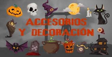 Accesorios y Decoracion Halloween