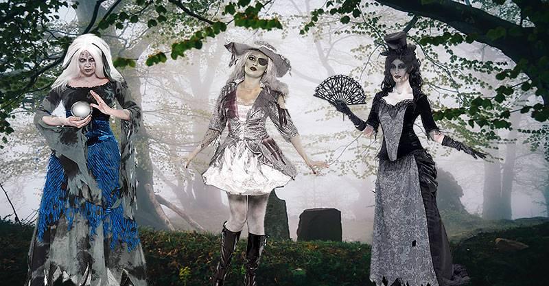 Disfraces para mujer de Halloween
