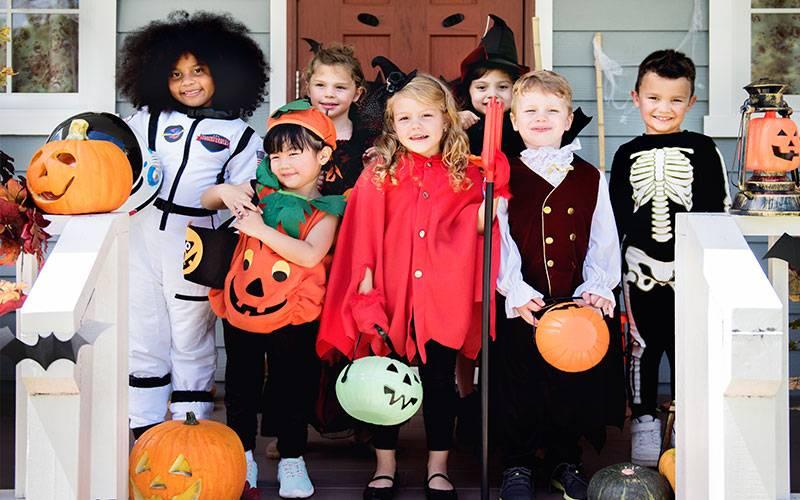 Disfraces típicos de Halloween para niños