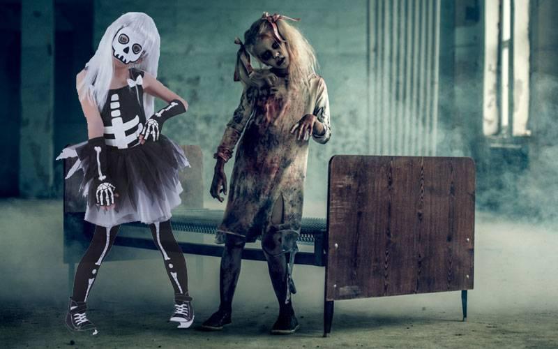 Disfraces de Halloween con tutú para niñas